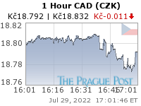 GoldSeek.com provides you with the information to make the right decisions on your CAD CZK 1 Hour investments