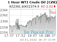 GoldSeek.com provides you with the information to make the right decisions on your WTI Crude Oil CZK 1 Hour investments